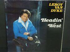 Leroy Van Dyke Headin' West SEALED vinyl LP record NEW