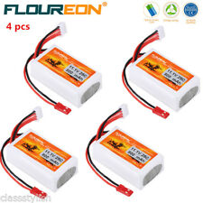 4X 3S 25C 11.1V 800mAh RC LiPo Battery Pack for RC Helicopter Airplane RC Hobby