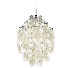 New Modern Vemer Panton Fun 1DM Pendant Light Natural Shell Ceiling Lamp Lights