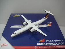 "Gemini Jets 400 Philippine Airlines PR Bombardier DHC Q400  ""1990s color"" 1:400"