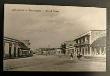 Mint Vintage Broad Street Calle Anch Barranquilla Columbia Real Picture Postcard