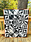 VTG 1960s MID Century Psychedelic Op Art Geometric Hard Edge Painting Wall Art