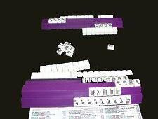 Las Vegas Mahjongg Purse  Vintage 2 Bam Mah jong Tile  Mahjong Bag  Gambler Quilted Pocketbook  Dice Charms  Mahj Zippered Purse