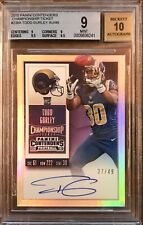 2015 Panini Contenders Todd Gurley Championship Ticket RC Auto /49 BGS 9 10