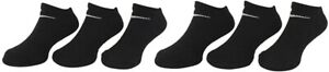 Nike Little Boy's 186522 6-Pairs Young Athletes Black No-Show Socks Size XS
