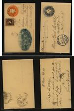 Argentina 2 used postal cards Ms0903