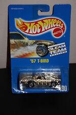 Hot Wheels blue card 190 '57 T Bird Gleam Team Edition