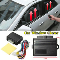 Universal Automatic Lift Car Window Closer Module Security System Kit For 4-door