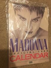 Vintage 1988 Madonna Calendar By Danilo from England new wrapped in plastic