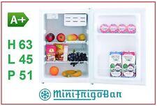Frigorifero Mini Frigo con Congelatore da Ufficio Freezer Piccolo e Compressore