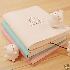 ~2017 Molang Diary Weekly Planner Agenda Notepad School Notebook Cute Rabbit