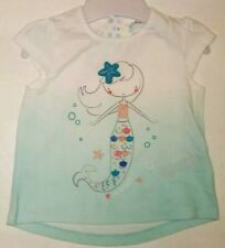 New F&F Baby Girl Glittery Mermaid T-shirt age 3-6 months 68cm
