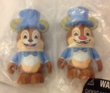 Imagination Gala Chip & Dale Vinylmation Box Chasers Blue 2 Set Event WDW