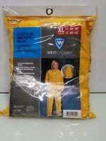 West Chester 3-Piece Rainsuit Yellow XL 44035XL