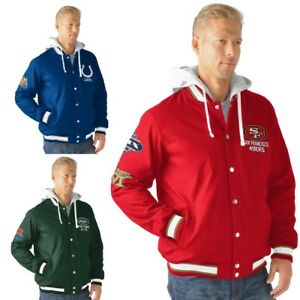 Officially Licensed NFL Double Cross Training Glory Jacket 483919-J