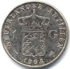 More details for 1964 netherlands antilles silver proof gulden(fish) | pennies2pounds