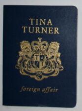 TINA TURNER cd foreign affair passeport