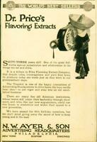 Advertising Dr. Price's Flavoring Extracts Tropikid True Vanilla NW Ayer  1915