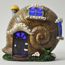 New Colour Changing Mini Fairy House /Mystical Shell House / 9.5cm -LED