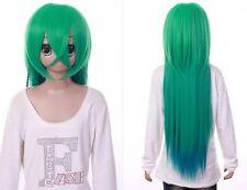 W-552 Amnesia Ukyo grün green 85cm COSPLAY Perücke WIG Perruque Anime Manga