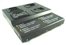 4 Bank PRO.Charger for Motorola HNN8148/9049/9360/9628 P110/1225/350/300eq*CE*UL