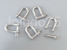 10 Stainless Steel Shackles for Paracord Bracelets Buckles D Shackles #3793-10