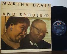 MARTHA DAVIS-CALVIN PONDER Martha & Spouse RARE 1957 DG ABC-PARA MONO Lee Young