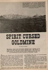 Cursed Goldmine of the Dead Mountains+Brackett,Dawson,Hardy,Hawthorne,Kildare