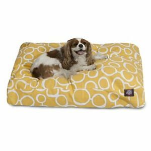 Majestic Pet Fusion Yellow Large Rectangle Pet Bed