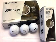 TAYLOR MADE TP5X '22' LOGO LIMITED EDITION Golf Balls - 1 Dozen White NEW