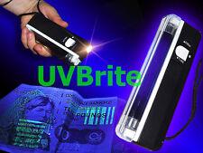 2 En 1 Luz Uv Portátil De Mano Ultravioleta De Billetes Falsos Checker & Torch