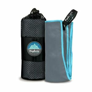 Youphoria Outdoors Microfiber Quick Dry Travel Towel - Ideal Fast Drying Towe...