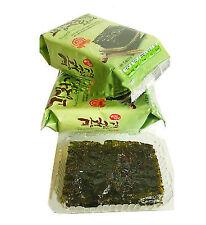 Korean Seasoned Roasted Seaweed Healthy Diet Snack Food 5 Packs