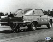 RICHARD PETTY SIGNED AUTOGRAPHED 8x10 PHOTO NASCAR RACING LEGEND BECKETT BAS