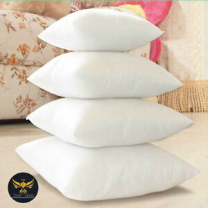 Pack of 2 4 6 Extra Deep Filled Plump 18x18 Inches Cushion Pads Inserts Fillers
