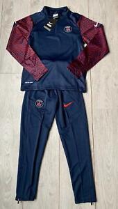 SURVETEMENT ENFANT FOOTBALL NIKE PSG PARIS SAINT GERMAIN TAILLE 24 8/9 ANS NEUF