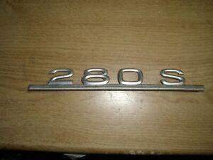 Emblem / Badge Mercedes-Benz 280 S Metall S-Klasse