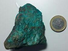 77 gram EILAT STONE TIMNA MALHACITE CHRYSCOLLA HOLYLAND KING SALOMON MINES