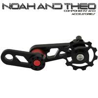 Single Speed Converter Chain Tensioner MTB Bicycle Singulator Seeker Black Red