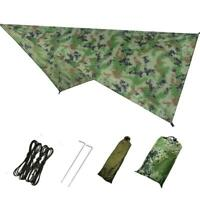 Waterproof British Basha Emergency Tent Shelter Tent BIVI Tarpaulin Tarp Army