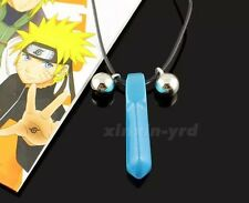 Naruto Blue Crystal Anime Tsunade Necklace Pendant Cosplay US Seller