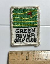Green River Golf Club Corona California Souvenir Embroidered Patch Badge