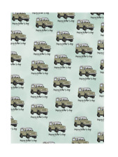 Amelia Florence - Gift Wrap - Landrover - Happy Fathers Day