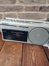 Vintage Sony CFM-150L Radio Cassette