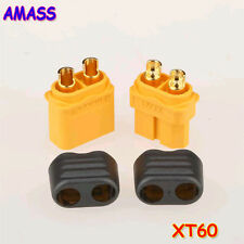 5pairs Amass XT60+ Plug Connector With Sheath Housing 5 Male 5 Female