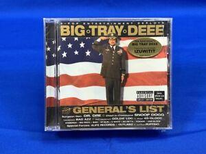 [SEALED] The General's List   Big Tray Deee   Snoop Dogg Outlawz RAP CD 2002 OOP