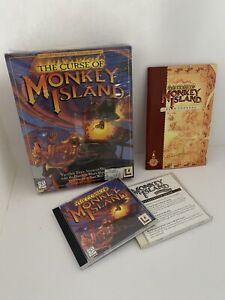 The Curse of Monkey Island (PC CD-ROM) - big box - LucasArts adventure game 1997