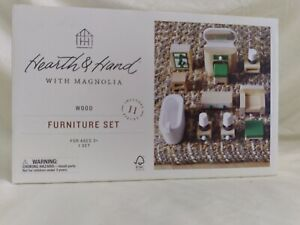 Hearth & Hand with Magnolia wood furniture set