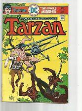 TARZAN #245 FN- FINE- WHITE PAGES BRONZE AGE 1976 DC COMICS