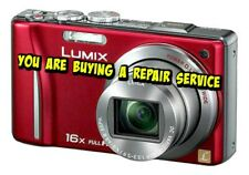 PANASONIC ZS10 or TZ20 REPAIR SERVICE for your DIGITAL CAMERA-60 day Warranty